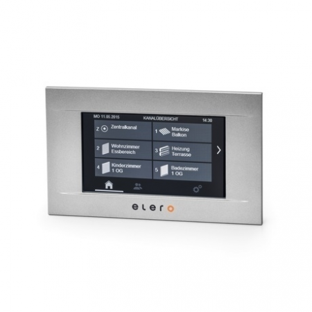 elero 287150001, 287160001, 287170001 MultiTec Touch-868