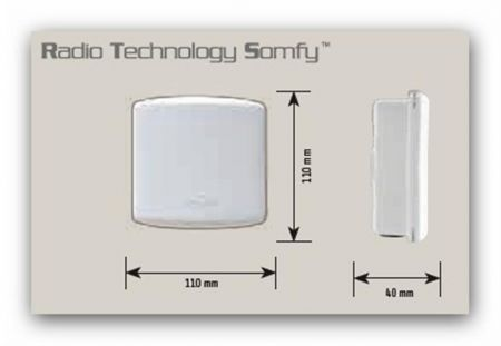 Somfy 1810625 Set Universal Receiver RTS