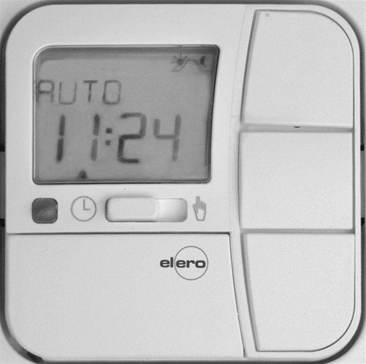 elero 280412001 TempoTec Bedienteil alpinweiß