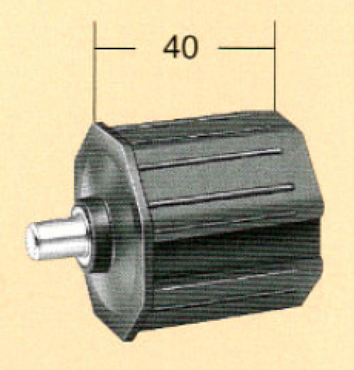 Rollex Rollladenkapsel kurz 10560 Kapsel 60 mm 8-kant, Länge 40 mm